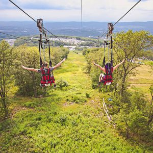 Zip Rider at Montage Mountain Resorts, Moosic